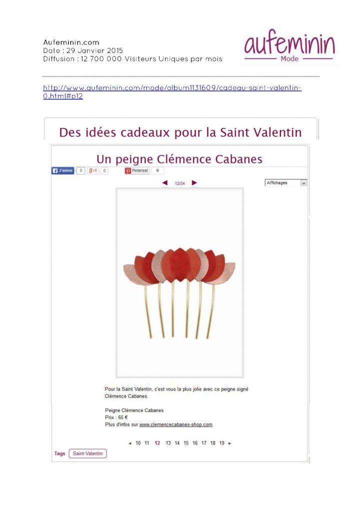 Aufeminin.com / Clémence Cabanes