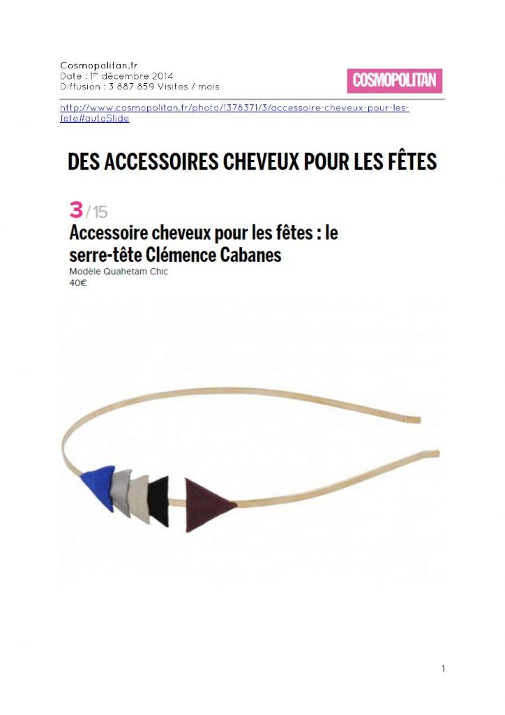 Cosmopolitan.fr - 01.12.2014