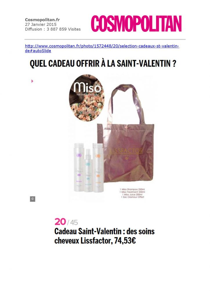 Cosmopolitan.fr _ lissfactor
