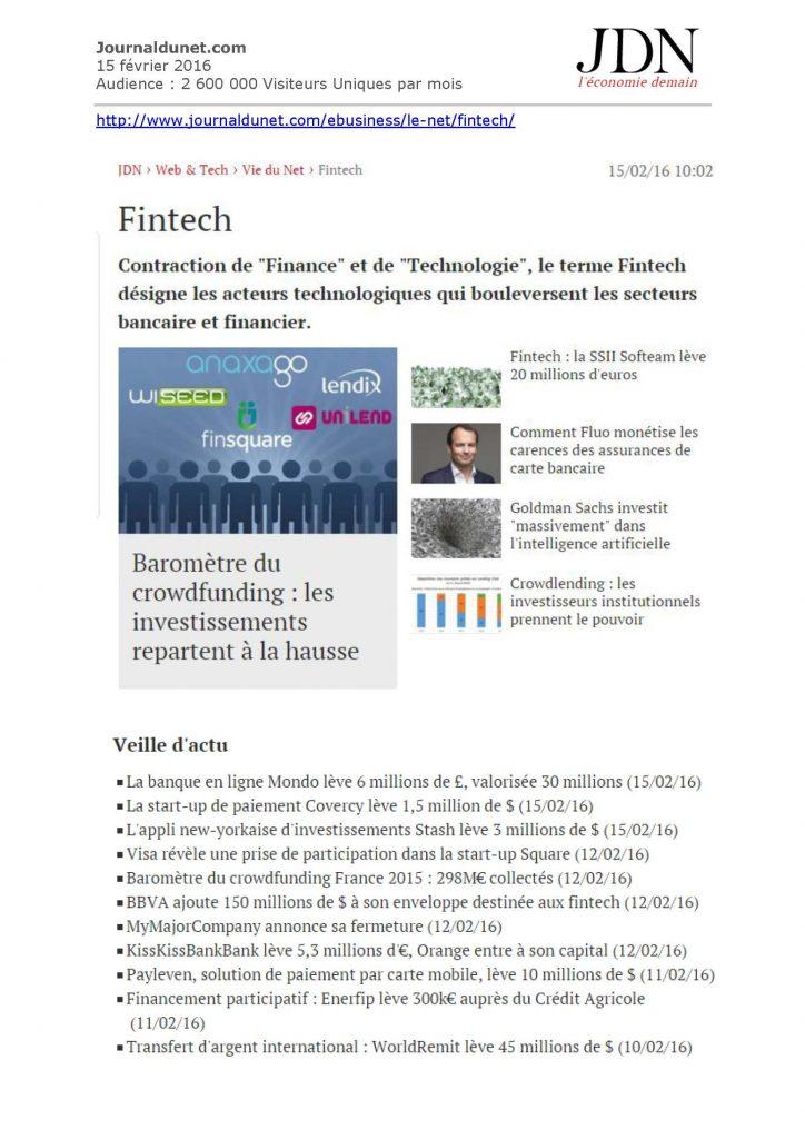 Journaldunet.com - 15 02 16