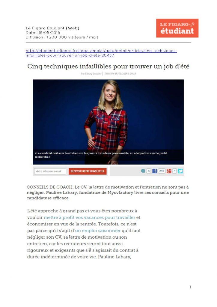 Le Figaro Etudiant (Web) - 18.05.2016_Page_1