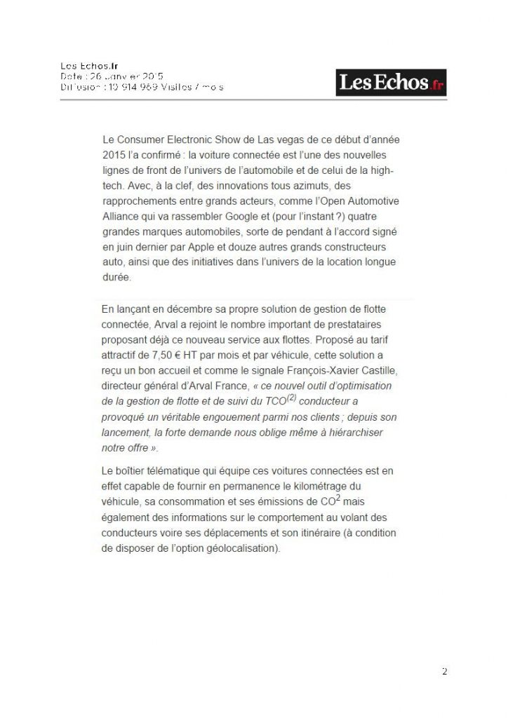 Les Echos.fr - mapping control 2