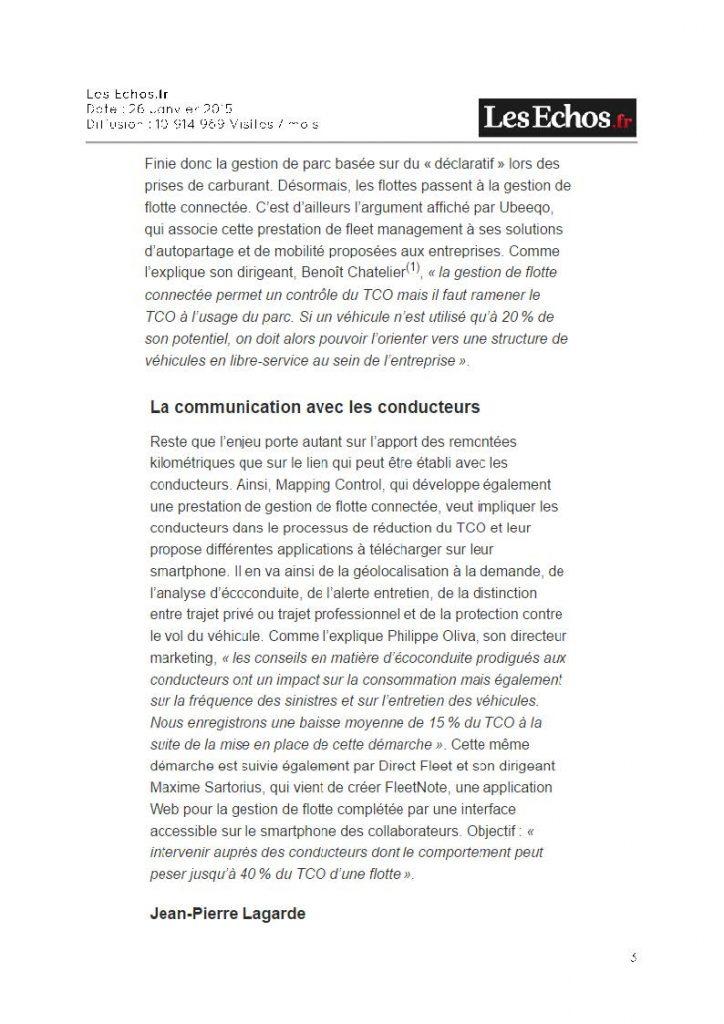 Les Echos.fr - mapping control 3