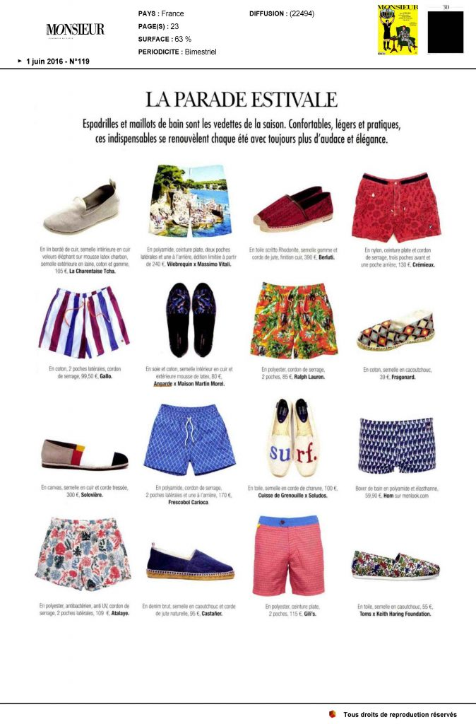 Monsieur magazine-Juin 16